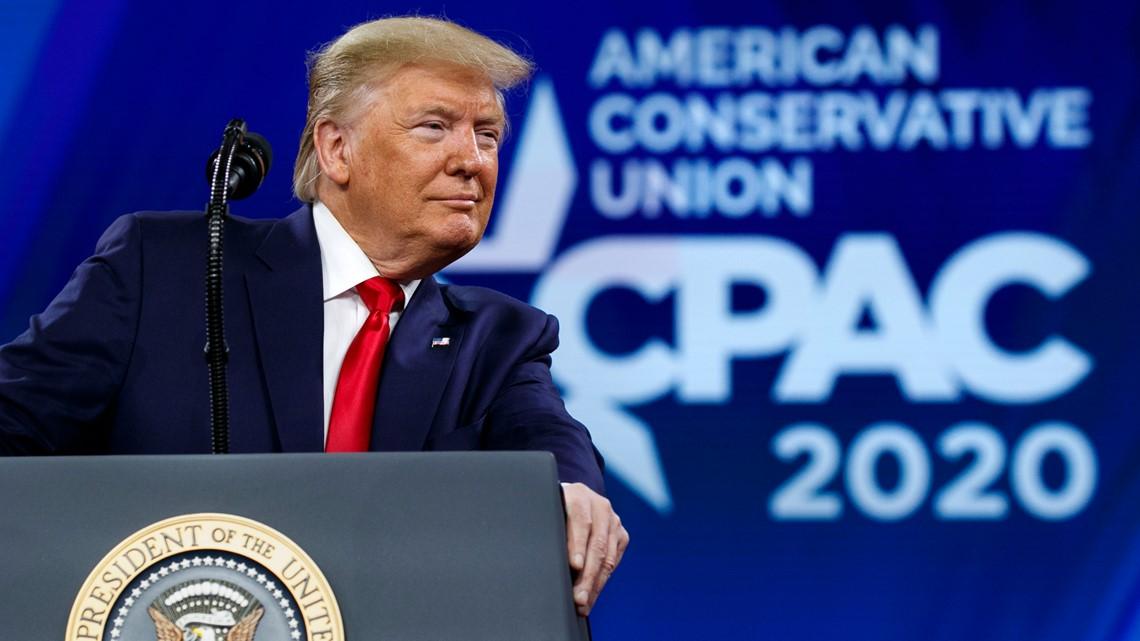 WATCH LIVE: Trump speaks at CPAC in Orlando