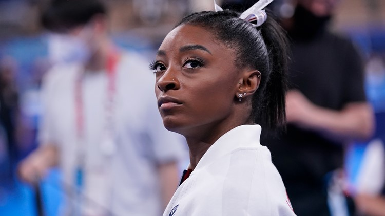 Olympic champion Simone Biles withdraws from gymnastics final to protect team, self