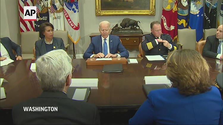 Biden: US 'stands firmly with the people of Cuba'