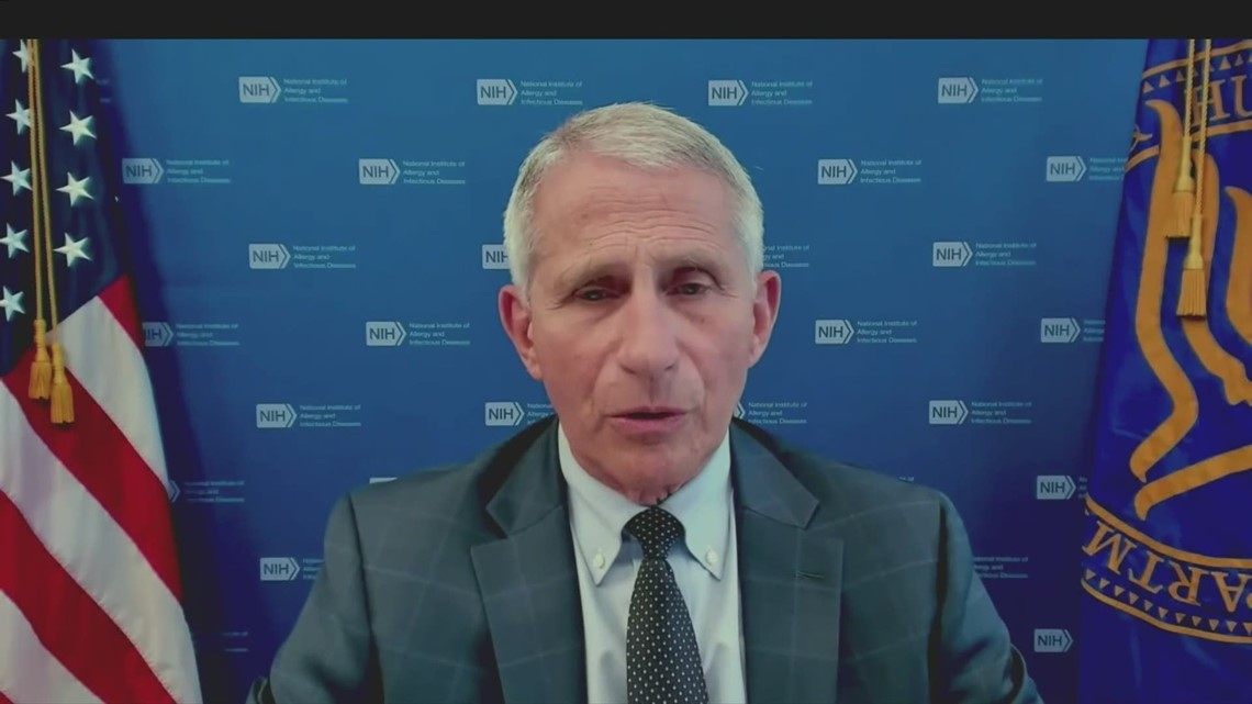 Dr. Fauci addresses COVID variants across the US