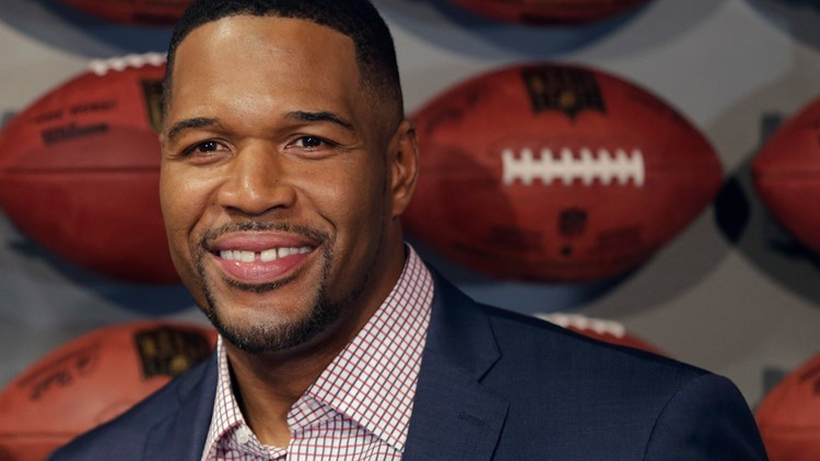 Michael Strahan's tooth gap removal was for April Fools' Day after all