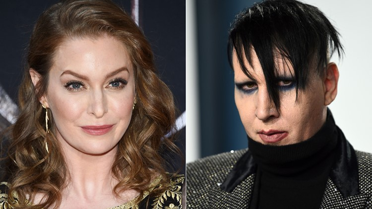Actress Esmé Bianco says Marilyn Manson repeatedly abused her