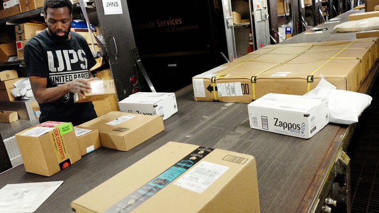Online shopping surge could lead to holiday delivery delays