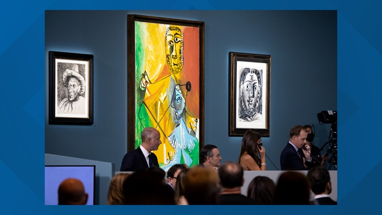 Famed Picasso works MGM Resorts had displayed in a restaurant sell for $109M