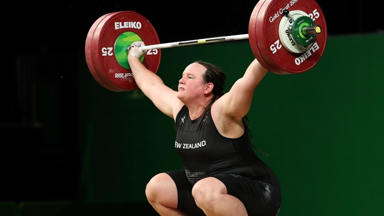 Transgender weightlifter Hubbard selected for Tokyo Olympics