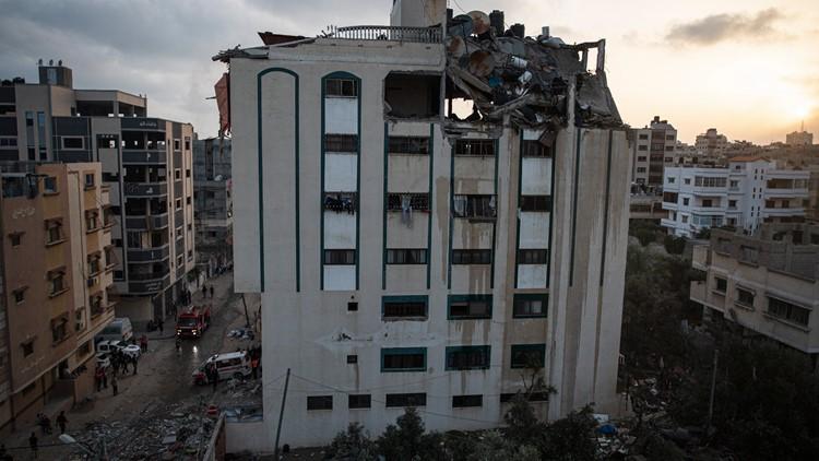 Gaza militants, children among 24 dead as Israel hits Hamas