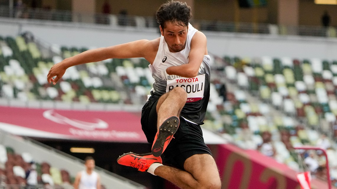 Afghan Hossain Rasouli gets his chance in the Paralympics