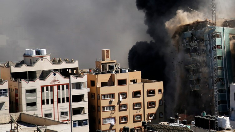 White House, AP CEO speak out after Israeli strike on building with Associated Press, other media