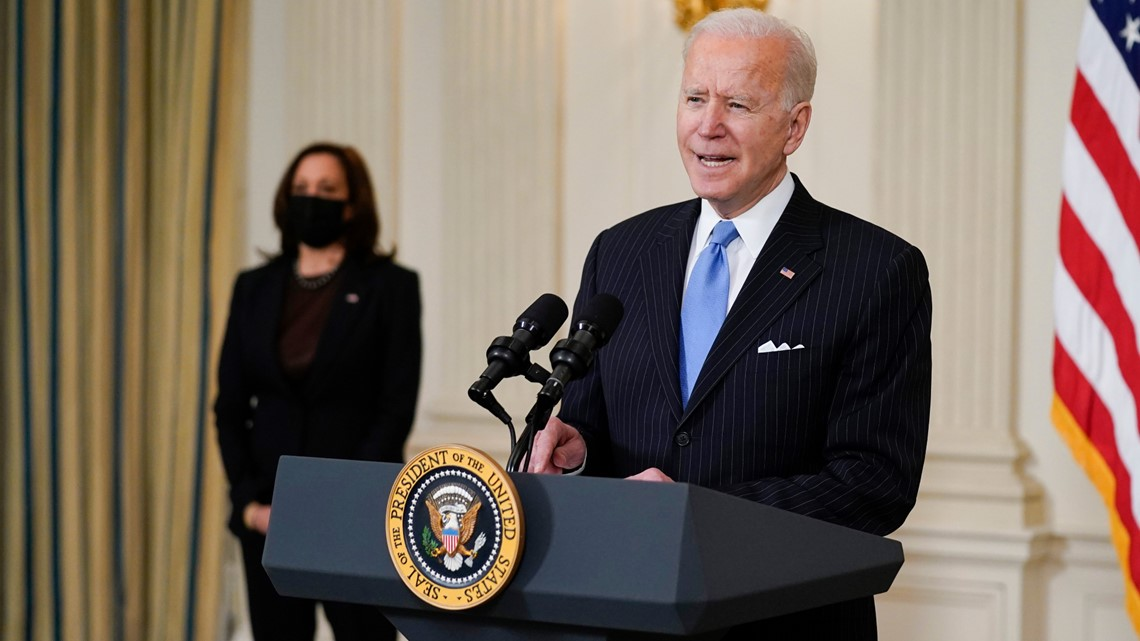 Biden's proposal offers a third stimulus check of $1,400 that would quickly phase out based on income, so that money is better aimed at the middle class and poor.