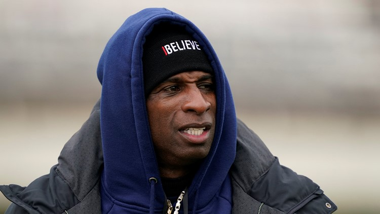 Firefighters deliver food to Deion Sanders and staff during winter storm