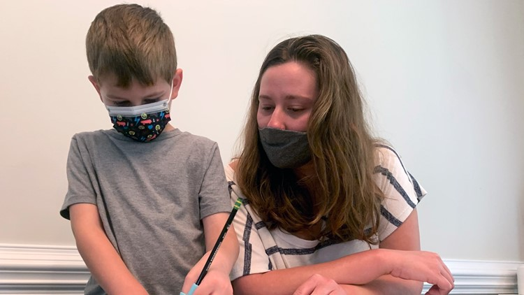 Outbreaks strand some students at home with minimal learning
