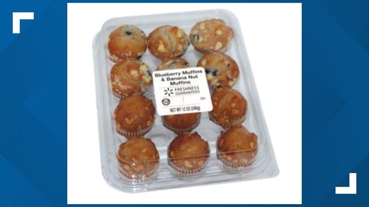 Muffins sold at Walmart, Sam's Club, 7-Eleven recalled over listeria concerns