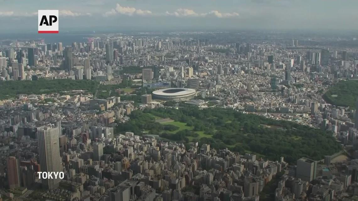 Aerials of Tokyo Olympics venues