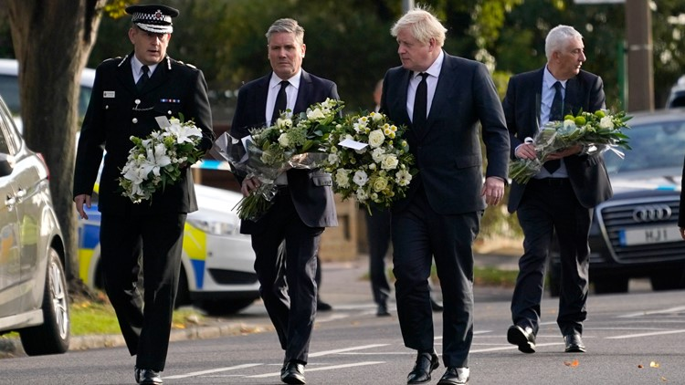 Tributes paid to slain British lawmaker who was stabbed multiple times
