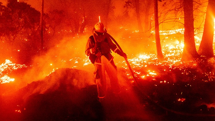 Smoke from wildfires can worsen COVID-19 risk, putting firefighters in even more danger