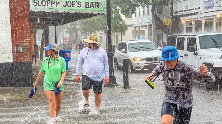 Tropical Storm Elsa makes landfall, heads to Georgia