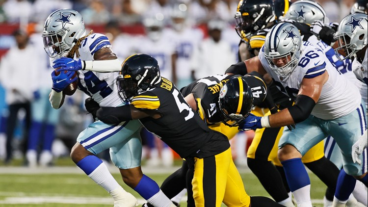 Football is back: Steelers  beat Cowboys 16-3 in Hall of Fame Game
