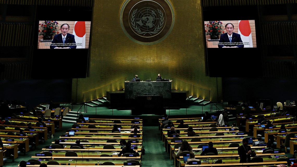Japan's leader calls Olympics 'symbol of global unity'
