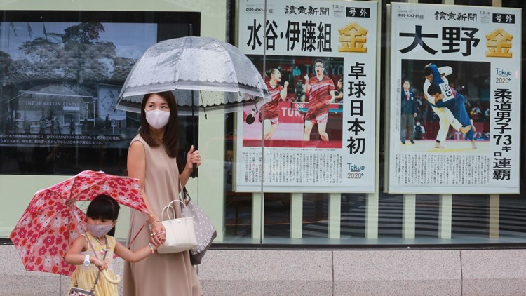 Tokyo records record coronavirus cases days after Olympics begin