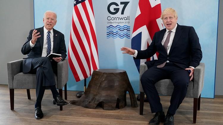 Biden, Johnson sign new Atlantic Charter in 1st meeting