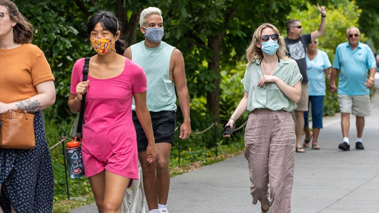 Some not ready to give up masks, despite new CDC guidance