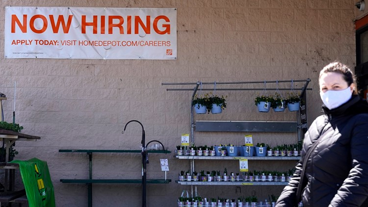 US jobless claims up to 744K as virus still forces layoffs