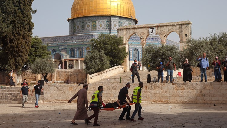 Air raid sirens, explosions heard in Jerusalem amid tensions