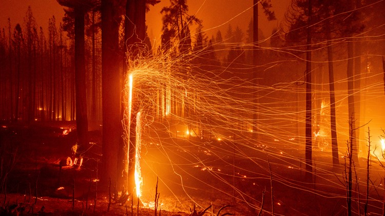 Fires harming California's efforts to curb climate change