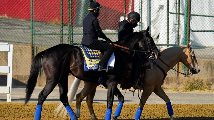 Preakness allows Kentucky Derby winner Medina Spirit to enter with extra testing