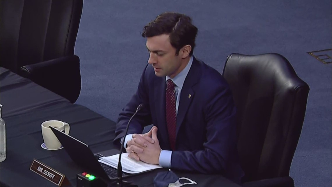 Senator Ossoff asks FBI Director Wray about increase in US violent crime