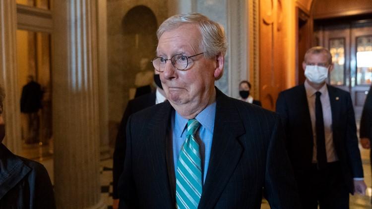 McConnell seizes on debt standoff to undermine Biden agenda