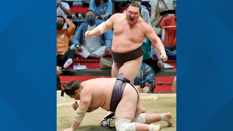 Japanese sumo great Hakuho retiring at age 36