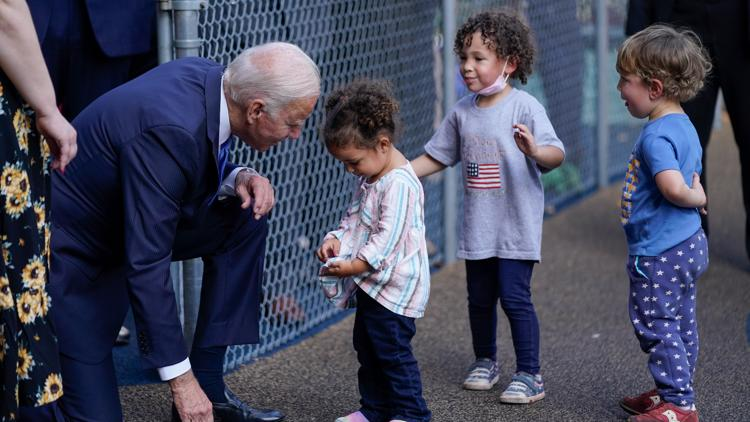 Biden open to shortening length of programs in spending bill