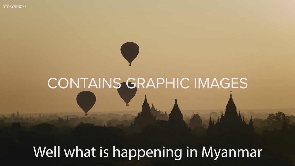 What's happening in Myanmar?