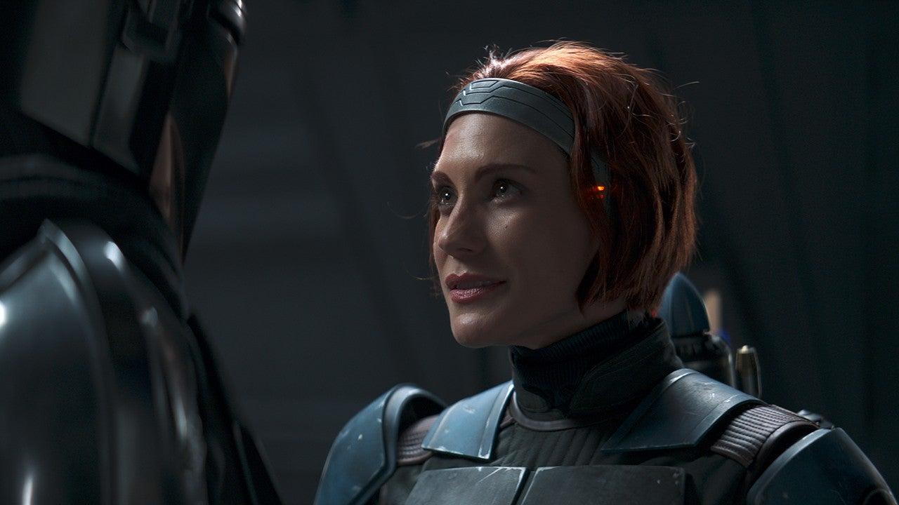 'The Mandalorian': Katee Sackhoff on Joining Season 2 as ...