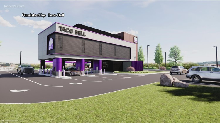 New Taco Bell concept with 4 drive-thru lanes set to open in 2022