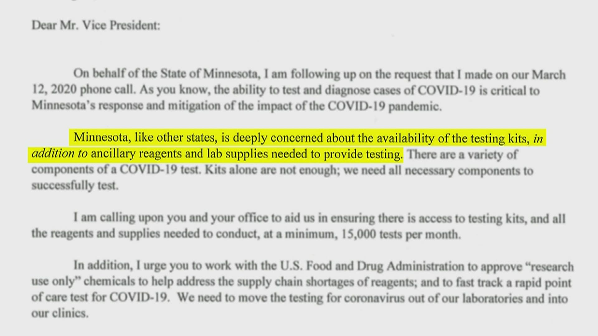 Kare 11 Investigates Walz Letters Reveal Fight For Critical Covid 19 Supplies 10tv Com I was going to buy it but there is no more, i'm really desperate. 10tv com