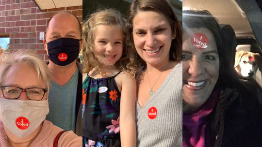 Your Photos: I Voted Selfies