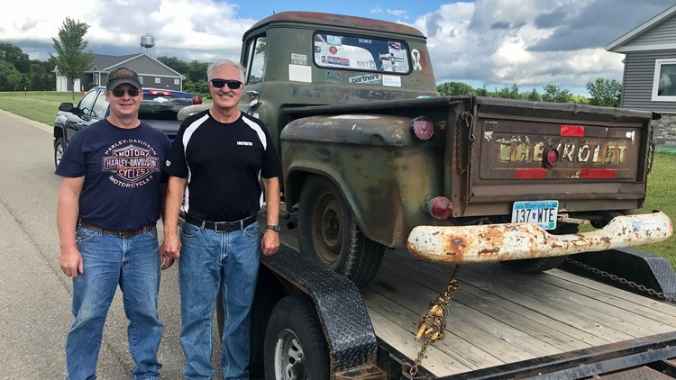 Man who paid $75 for Chevy truck 44 years ago, just sold it to prior owner's grandson for $75