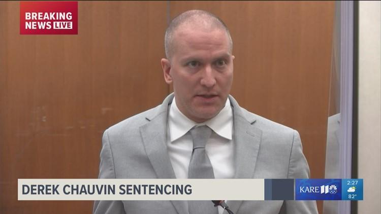 Derek Chauvin, mother speak at sentencing hearing for murder of George Floyd