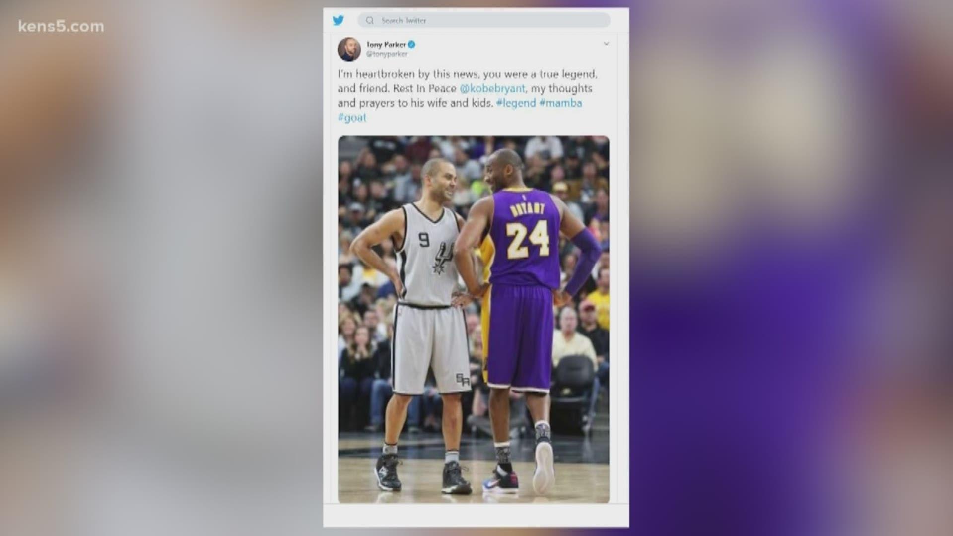 San Antonio Spurs Reaction To Kobe Bryant S Death 5newsonline Com