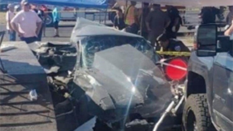 2 dead, 5 injured after car 'lost control' at Texas drag race, authorities say
