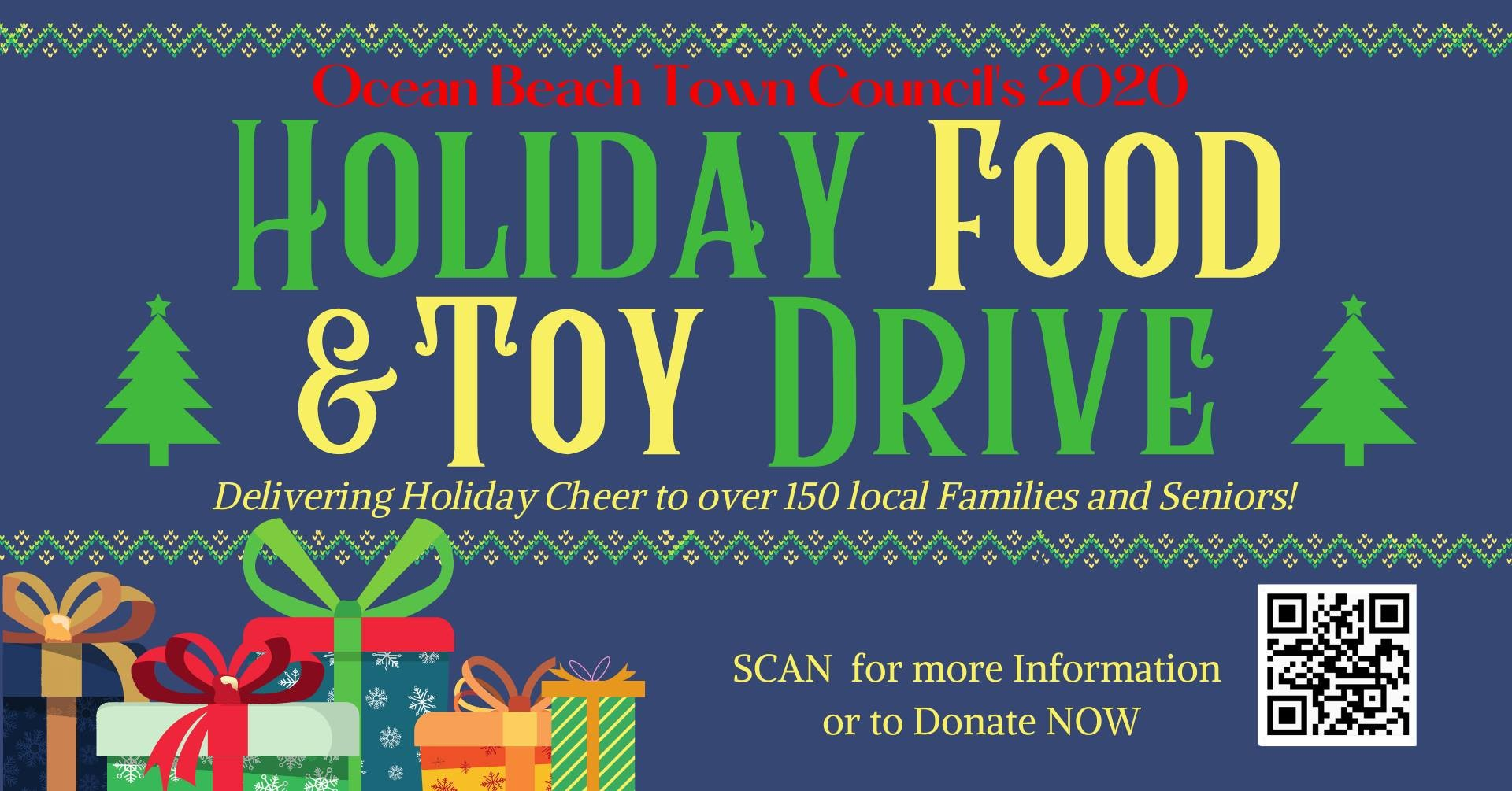 Ocean Beach Town Council Food and Toy Drive GoFundMe