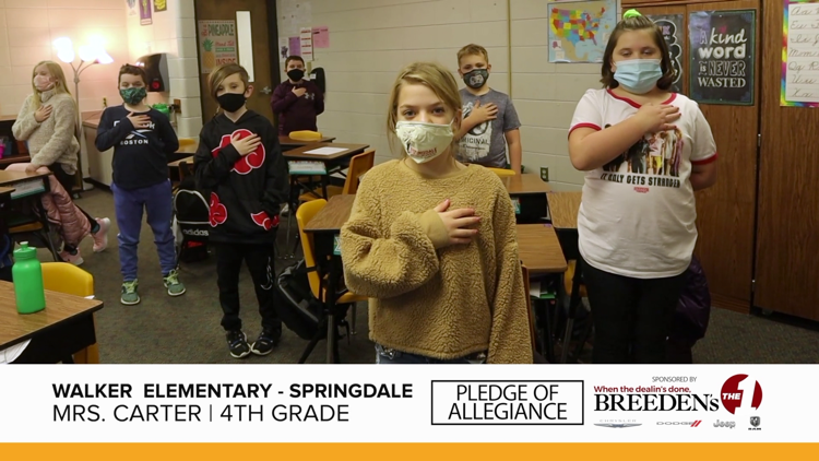 Mrs. Carter 4th Grade Walker Elementary, Springdale