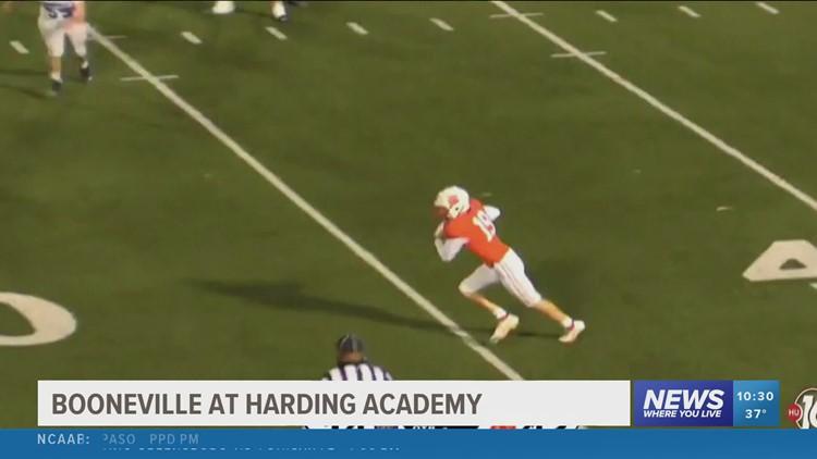 Watch: FFN Playoffs - Booneville vs. Harding Academy