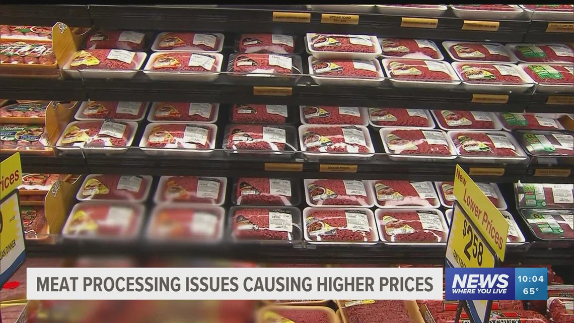 Inflated meat prices caused by meat processors edging out farmers