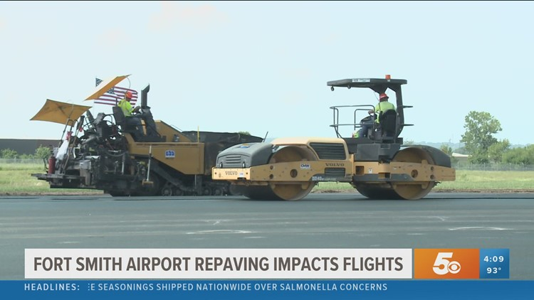 American Airlines putting temporary pause on Fort Smith flights due to runway construction