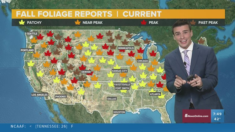 Cool, fall weather is here the next few days for the Plains   Oct 17 Forecast