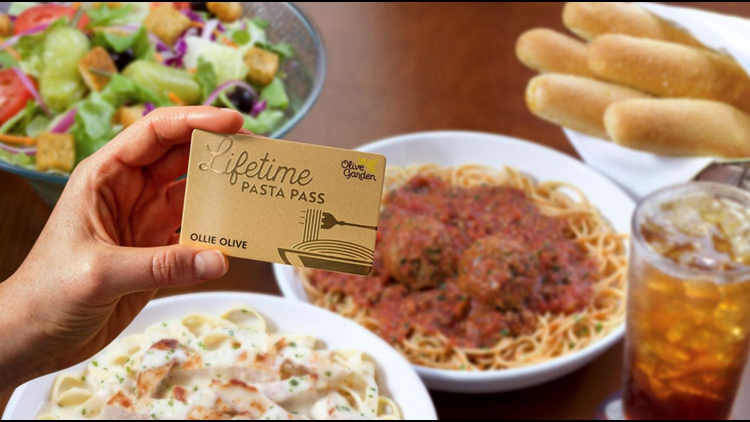 Olive Garden Announces New Lifetime Pasta Pass 5newsonline Com