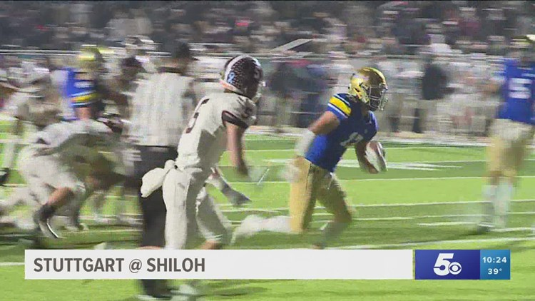 Shiloh Christian dominates Stuttgart to advance to 4A state title game